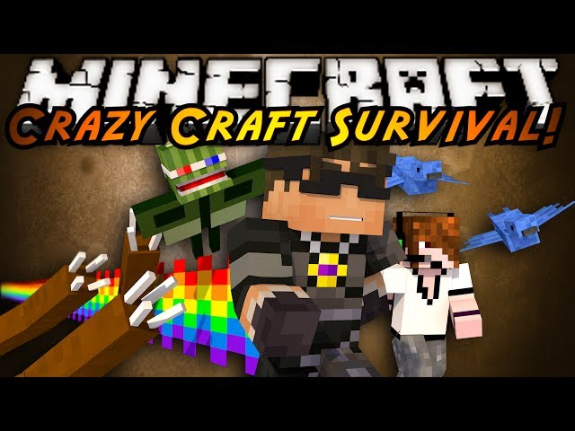 how to play crazy craft on minecraft