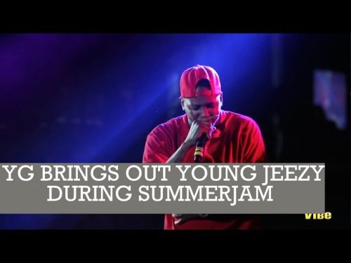 @YG Brings Out @YoungJeezy During Hot 97's Summer Jam