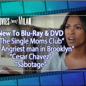 New On Blu Ray & DVD: The Single Mom's Club, The Angriest Man In Brooklyn, Cesar Chavez & Sabotage