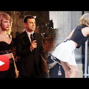 (Video) Taylor Swift performs at Jimmy Kimmel LIVE!   Shake It Off Live