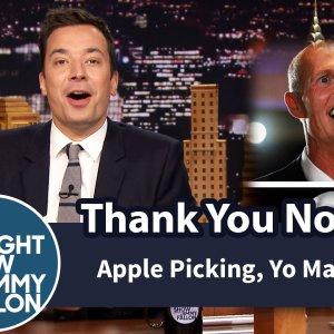 Thank You Notes: Apple Picking, Yo Mama Jokes