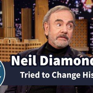 Neil Diamond Tried to Change His Name