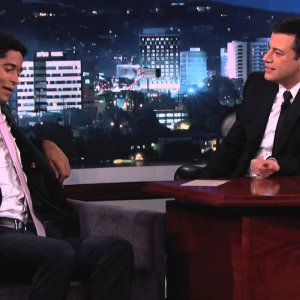 Alfred Enoch Rides The Bus