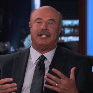 Dr. Phil Has a Bone to Pick with Jimmy Kimmel