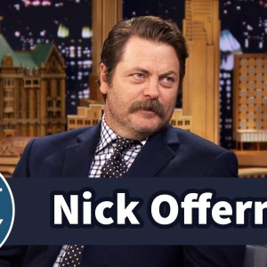 Nick Offerman Got the Last Line on Parks & Recreation