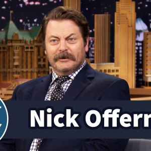 Nick Offerman Learned His Deadpan Delivery in Church