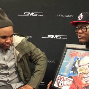 Demont Peekaso Shows & Talks About His Amazing Artwork