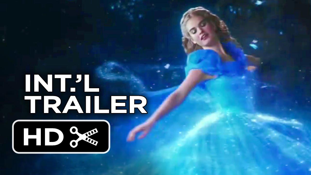 Cinderella international trailer 2 2015 lily james helena