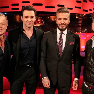 David Beckham the referee – The Graham Norton Show: Series 16 Episode 20 – BBC One