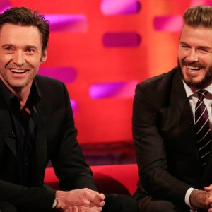 David Beckham's hairstyles – The Graham Norton Show: Series 16 Episode 20 – BBC One