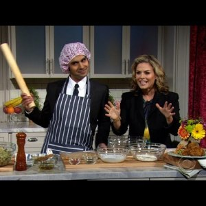 The Late Late Show – Oven Fried Chicken