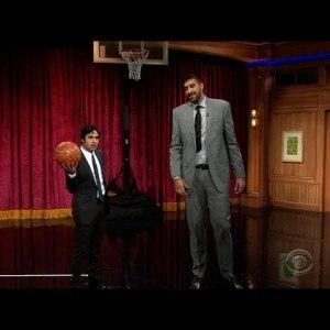The Late Late Show – Kunal Nayyar VS Sim Bhullar