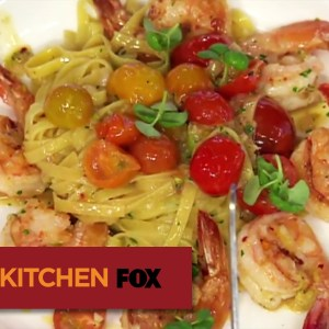 "HELL'S KITCHEN | Shrimp Scampi Pasta Demo from ""17 Chefs Compete"" 