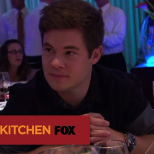 "HELL'S KITCHEN | Adam Devine Dines In Hell's Kitchen from ""17 Chefs Compete"" 