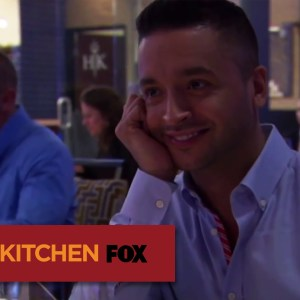 "HELL'S KITCHEN | Jai Rodriguez Dines In Hell's Kitchen from ""17 Chefs Compete"" 