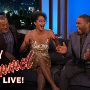 Cast of Black-ish Talks About Disciplining Children with Hot Wheels Tracks