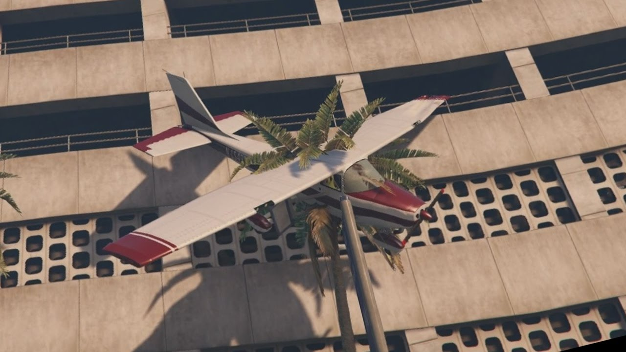 how to fly a plane on grand theft auto 5