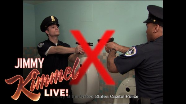 Capitol Police Training Video for Bathrooms