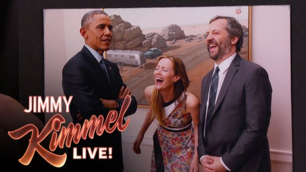 """Judd Apatow Talked to Obama About """"Mean Tweets"""""""