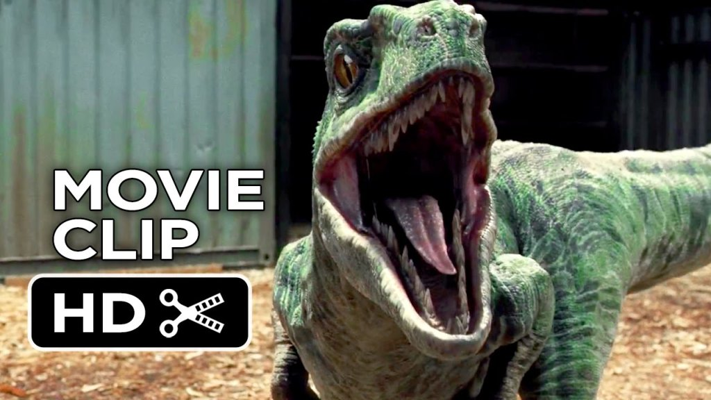 Jurassic World Movie CLIP – Raptor Paddock (2015) – Chris Pratt ...