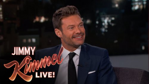 Ryan Seacrest Talks To Jimmy About the Pacquiao/Mayweather Fight
