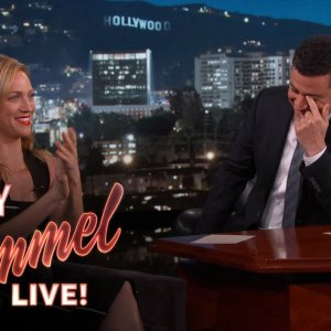 Brittany Snow Watches Jimmy Kimmel's Mom Watch Pitch Perfect