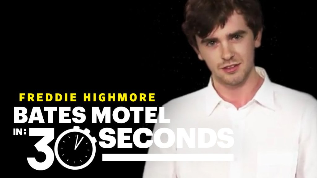 Freddie highmore explains bates motel in 30 seconds for Freddie highmore movies and tv shows