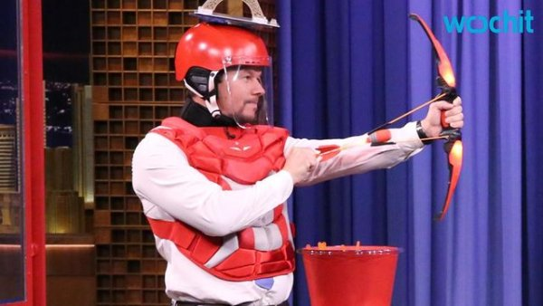 Mark Wahlberg, Fallon Shoot Each Other in the Head on 'Tonight'