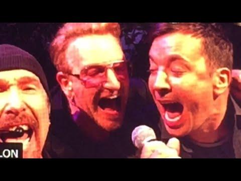(VIDEO) Jimmy Fallon FUNNY Imitation At U2 Concert