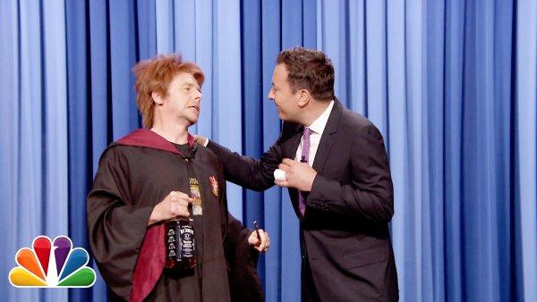 Drunk Ron Weasley Returns for Harry Potter's Birthday