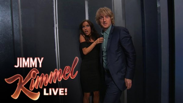 Owen Wilson Kisses The Bachelorette Kaitlyn