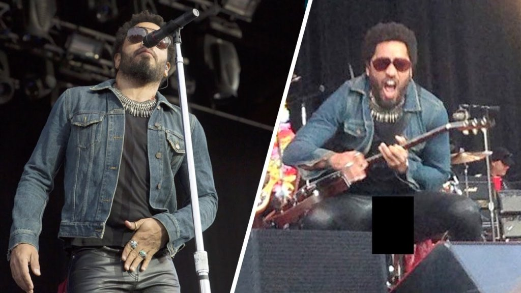 Lenny kravitz exposed his meatballs in sweden inthefame