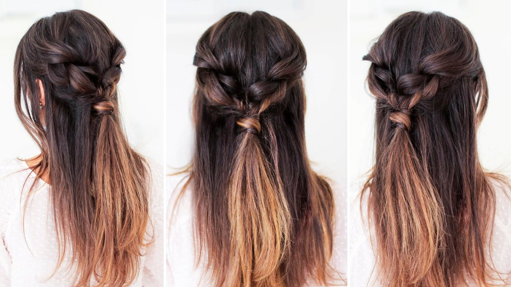 Easy Everyday Hairstyle Luxy Hair  INTHEFAME