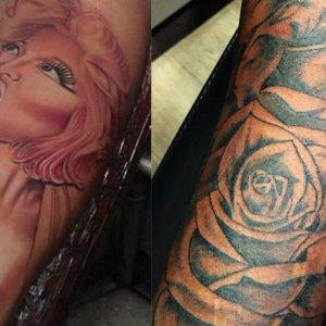 Exclusive! Safaree Covers Up Fourth & Final Nicki Minaj Tattoo