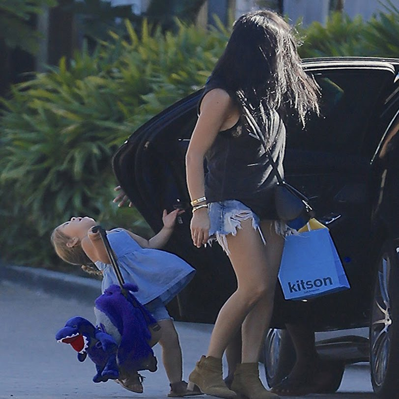 Kourtney Kardashian's Baby Penelope Gets Slammed By A Car