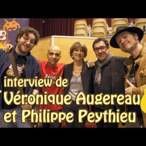 Philippe Peythieu Et VÉronique Augereau – Interview à La Gameplay '14