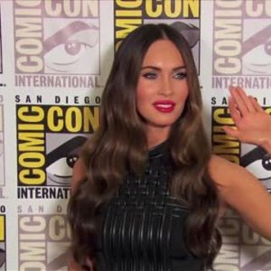 Megan Fox fait monter la tempréature à la Comic Con