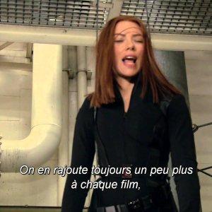 Captain America Le Soldat de l'Hiver : Bonus – Scarlett et sa doublure VOST