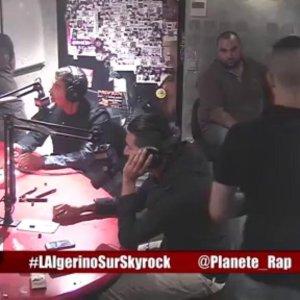 L'Algérino avec Tunisiano et Kalif Hardcore en live dans Planète Rap