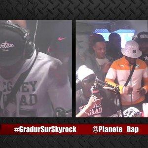 """Cahipps Feat Gradur """" E.T"""" en live dans Planète Rap !"""