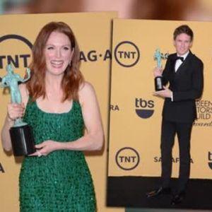 Birdman, Eddie Redmayne et Julianne Moore sont les grands gagnants des Screen Actors Guild Awards