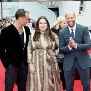 Melissa McCarthy est tout sourire à la première de Spy à Londres