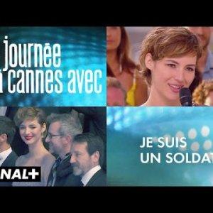 Une journée à Cannes avec Je suis un soldat – Louise bourgoin, Jean-Hugues Anglade,