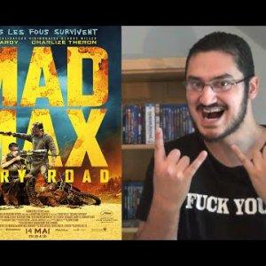 """Instant Chronique du Daron """"MAD MAX: FURY ROAD"""""""