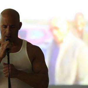 Quand Vin Diesel rend hommage à Paul Walker en chanson