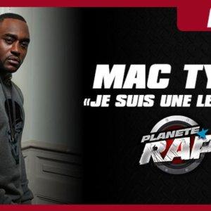 """Mac Tyer """"Je suis une légende"""" en live dans Planète Rap"""