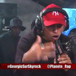 Freestyle de Georgio en live dans Planète Rap !